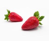 Porte des fruits les fraises Photo libre de droits