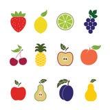 Porte des fruits les graphismes Image stock