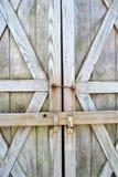 Porte di granaio chiuse fotografie stock