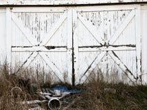 Porte di granaio rustiche Fotografie Stock