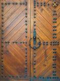 Porte di legno molto vecchie fotografia stock libera da diritti