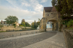 Porte du Croux gate in Nevers Stock Photography