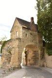 Porte du Croux - Nevers - França fotografia de stock