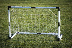 Porte du football Photographie stock libre de droits