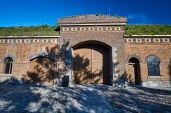 Porte du fort prussien historique photographie stock libre de droits