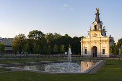 Porte du palais de Branicki dans Bialystok, Pologne Photographie stock
