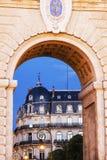 Porte du Peyrou in Montpellier Stock Photos