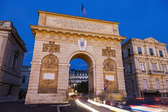 Porte du Peyrou in Montpellier Stock Photography