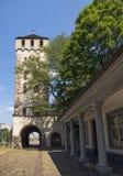 Porte du ` s d'Alban Tor St Alban de saint photo stock