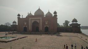 Porte du sud de Taj Mahal - Âgrâ photos libres de droits