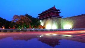 Porte du sud de Xian, Chine Image libre de droits