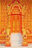 Porte du temple. Photo libre de droits