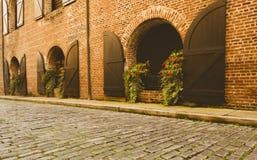 Porte ed entrate sceniche, architettura unica, vecchia, ornata Immagini Stock
