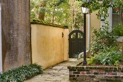 Porte ed entrate sceniche, architettura unica, vecchia, ornata Fotografia Stock Libera da Diritti