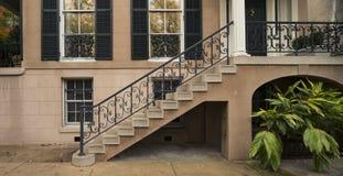 Porte ed entrate sceniche, architettura unica, vecchia, ornata Fotografia Stock
