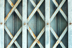 Porte en acier Photo stock