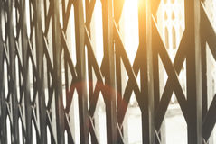 Porte en acier Images stock