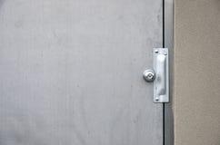 Porte en acier industrielle commerciale Image libre de droits