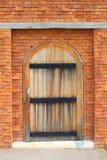 Porte en bois Image stock