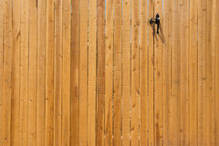 Porte en bois Photo stock