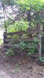Porte en bois de pays Images stock