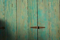 Porte en bois de vintage images libres de droits