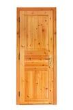 Porte en bois interne image libre de droits