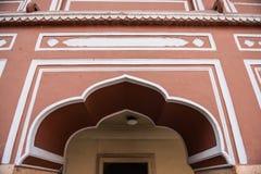 Porte en Chandra Mahal Photos libres de droits