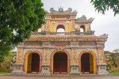 Porte en Dien Tho Residence images libres de droits