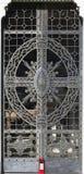 Porte en métal (élément abstrait de nature) Photographie stock