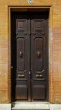 Porte espagnole antique Images stock