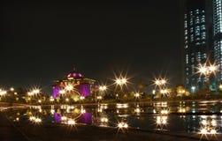 Porte est d'aile de palais d'Emirats. l'Abu Dhabi photo stock