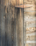 Porte et charnière Image stock