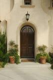 Porte et patio modernes Photo libre de droits