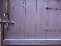 Porte et verrouillé Image stock