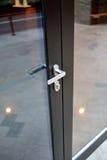 Porte fermée de bureau Photos libres de droits