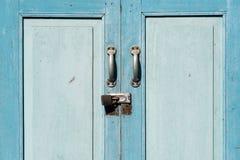 porte fermée et oubliée antique Photo libre de droits