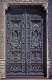 Porte fleurie Images stock