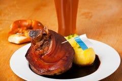 Porte-fusée bavarois de porc photo stock
