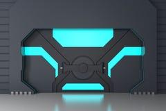 Porte futuriste illustration stock