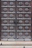 Porte gothique Photographie stock libre de droits