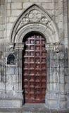 Porte gothique Photos libres de droits
