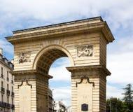 Porte Guillaume в Дижоне Дижоне, бургундском, Франции Стоковые Изображения RF