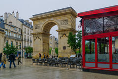 Porte Guillaume gate, in Dijon Royalty Free Stock Photography