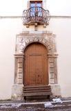 Porte historique de maison image libre de droits