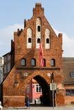 Porte historique de ville dans Wismar en Allemagne Image libre de droits