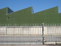 Porte industrielle Photos stock