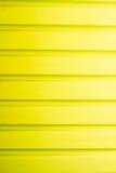 Porte jaune de garage Photographie stock