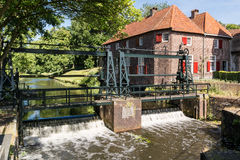 Porte Koppelpoort de ville à Amersfoort, Pays-Bas Photos libres de droits