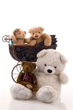 porte le nounours Photos stock